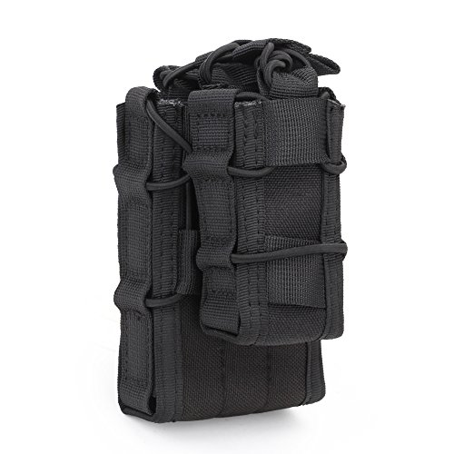 Oarea Double Decker Mag Pouch Cartridge Clip Holder Hunting Bag Airsoft...