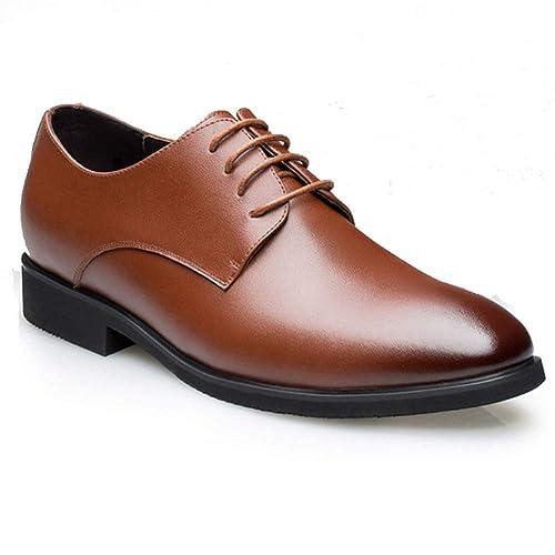 Zapatos de Traje de Cuero de Negocios para Hombres ...