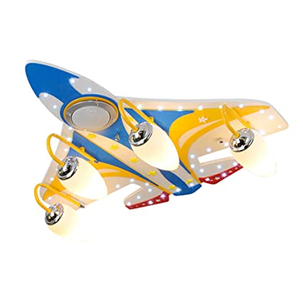 Lampadari illuminazione per bambini luci per aeroplani musicali