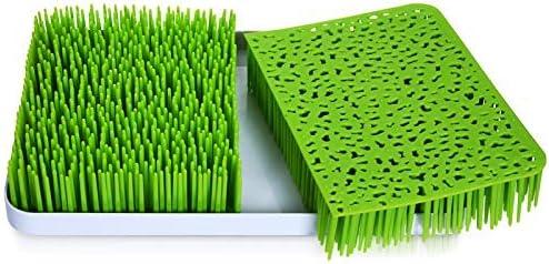 calidad y dise/ño elegante con forma de c/ésped Escurridor para secar biberones en las encimeras de la cocina
