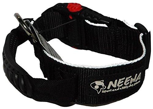 Black Medium Black Medium Neewa Collar with Handle (Medium, Black)