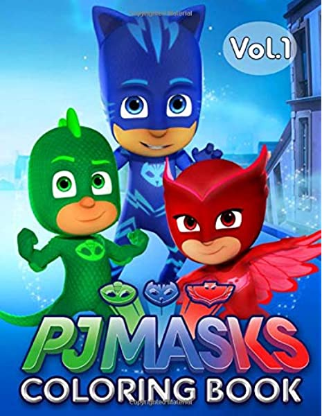 PJ Masks Coloring Book: 50 PJ Mask Illustrations Funny Coloring Book For  Toddlers Kids Girls And Boys: Kitty, Susan: 9781702891080: Amazon.com: Books