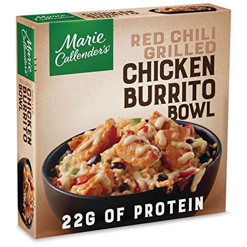 Marie Callender's Red Chili Grilled Chicken Burrito Bowl, 11.5 Ounce