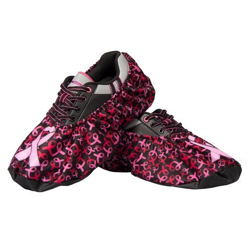 Robby's Breast Cancer Shoe Covers- Pink Ribbons, One Size Fits Most