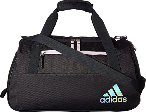 adidas Squad Duffel Bag, Grey/Aero Pink, One Size from adidas