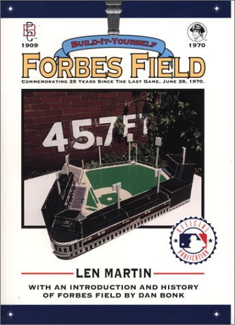 Forbes Field: Build-It-Yourself: With an Introduction and History - Baseball Forbes Field