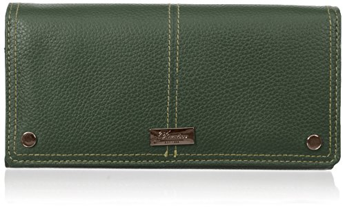 Green Needles (Westcott Expandable Clutch Wallet, Pine Needle, One)