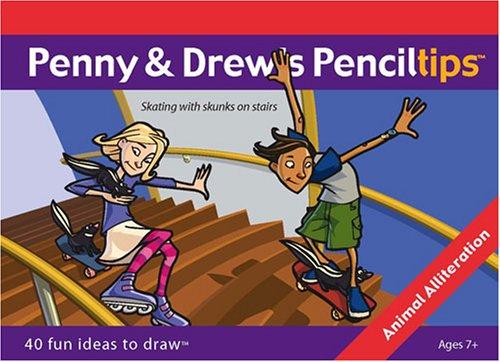 Penny & Drew's Penciltips:  Animal Alliteration
