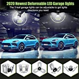 LED Garage Indoor Lights 8000 LM Flexed LED Garage