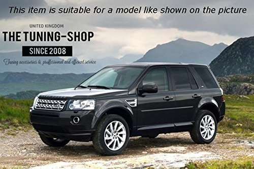 Amazon.com: The Tuning-Shop Ltd For Landrover Freelander LR2 2006-2014 Automatic Shift E Brake Boot Black Leather: Automotive