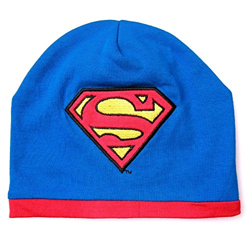 Superman Embroidered Beanie - Superman Baby Hat 0-9 Months