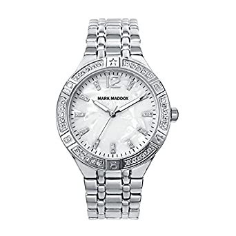 Image Unavailable. Image not available for. Color: RELOJ MARK MADDOX MM6007-85 Mujer