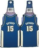 NBA Carmelo Anthony #15 Denver NuggetsThrowback Jersey Bottle Cooler 2-pack