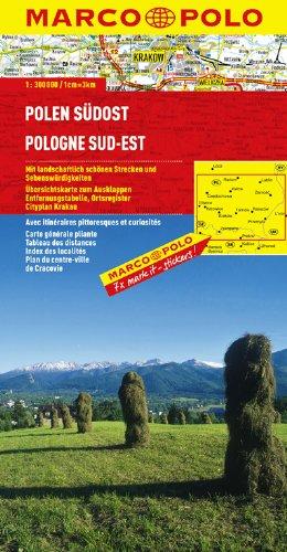 MARCO POLO Karte Polen Südost (MARCO POLO Karten 1:300.000)