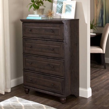Product Reviews Buy Better Homes And Gardens Crossmill 4 Drawer Dresser Heritage Walnut