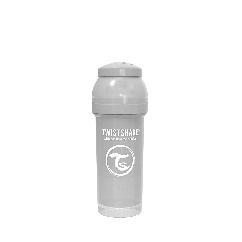260ml White Twistshake Anti-Colic Bottle