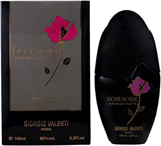 Giorgio Valenti Rose Noire Parfum De Toilette Spray 3.3 Oz/ 100 Ml, 295 g
