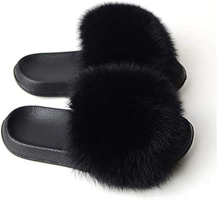 Amazon.com: Women Furry Slippers Fluffy