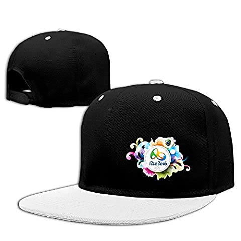 Custom Unisex The 2016 Rio De Janeiro Casual Summer Cap Hat White (Attack In Titan Dvd)