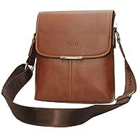 CARRY TRIP Polo Men Brown Shoulder Bag Handbag Composite Leather Bag // Sling Bag // Messenger Bag for Men