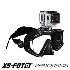 Bring your GoPro camera on all your underwater adventures while staying hands-free! The XS Foto GoMask Panorama has a GoPro mount built directly into the mask frame, so you can record your dives without tying up your hands. With this GoPro mo...