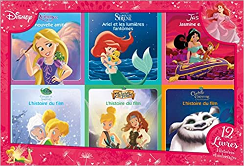 Amazon In Buy Disney Princesses Coffret 12 Livres 6