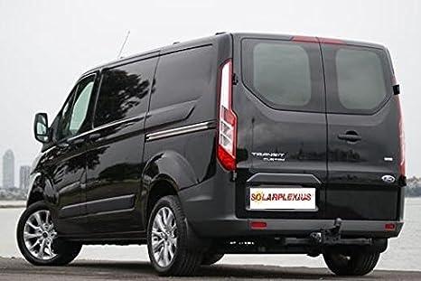 ab 14 Auto Sonnenschutz Scheiben-Tönung Sonnenblenden Ford Tourneo Custom L1 Bj
