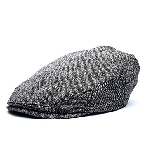 Baby Boy Ring Bearer Pageboy Flat Ivy Newsboy Tweed Golf Cap Hat- (XXS 46cm, Driver)