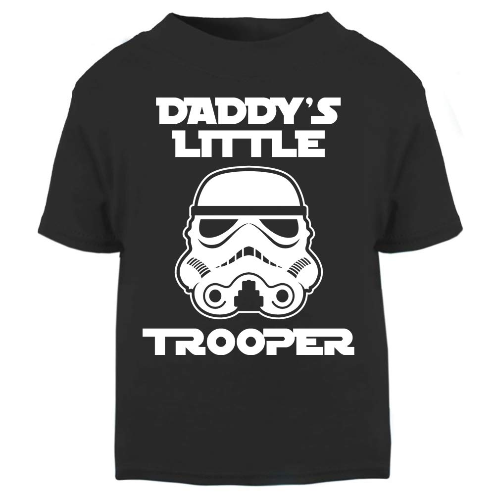 Original Stormtrooper Daddy's Little Stormtrooper Baby And Toddler Short Sleeve T-Shirt