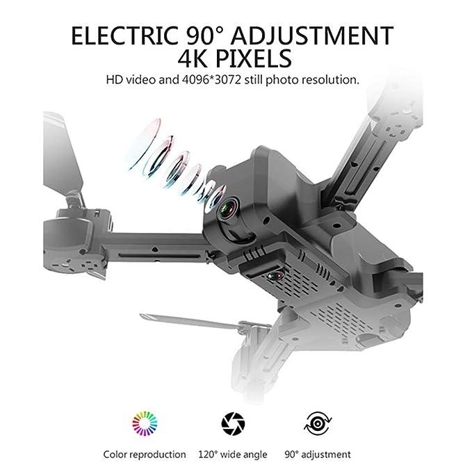 Amazon.com: Ceepko KF607 - Dron con cámara 4K, dron FPV ...