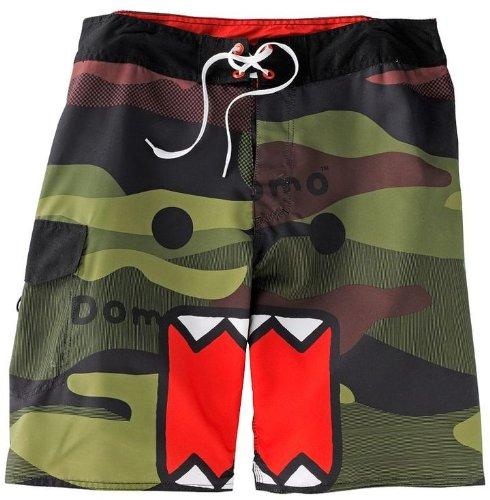 - Domo-Kun Domo Face Camouflage Board Shorts | 34