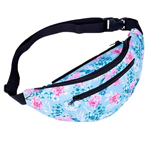 Decorative Sport Bag Bag Bumbag Fitness Fashion Pattern Chest L Gym Package Waist Women Winkey xIqpgp