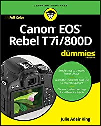 Image of the product Canon EOS Rebel T7i/800D that is listed on the catalogue brand of For Dummies.