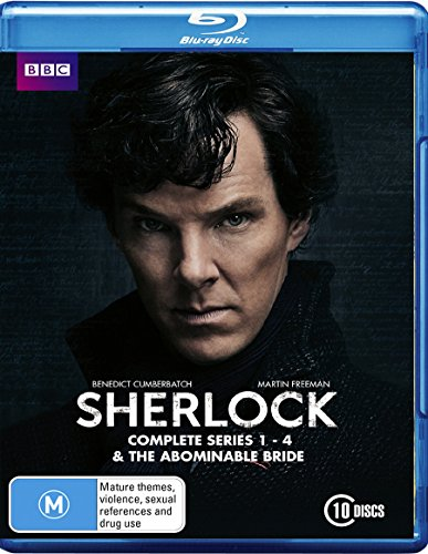 Sherlock Series 1-4 & The Abominable Bride | 10 Discs | NON-USA Format | Region B Import - Australia