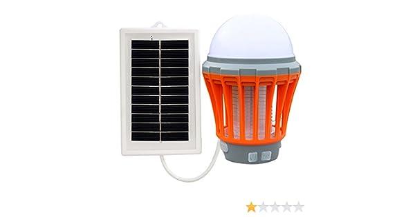 ❤️Naranja EUzeo/_Repelente Ultras/ónico L/ámpara Anti Mosquitos Electr/ónica Solar//LED//UV Mosquito de la L/ámpara el Mejor Segura y Eficaz L/ámpara de Anti-Mosquito//Anti-Insectos con luz UV❤️EUZeo❤️