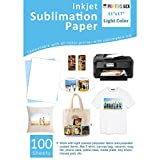 Sublimation Paper Heat Transer Paper 100 Sheets for
