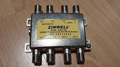 Zinwell 3 x 4 Multi-Switch ()