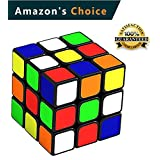 Speed Cube 3x3 Magic Fidget Cubes Brain Teasers Puzzle Toys Game Sticker Smooth Twist Super Durable Structure and Vivid Colors Gift Puzzles Toy