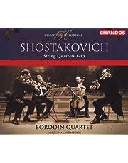 Dmitri Schostakowitsch: Streichquartette Nr. 1-13