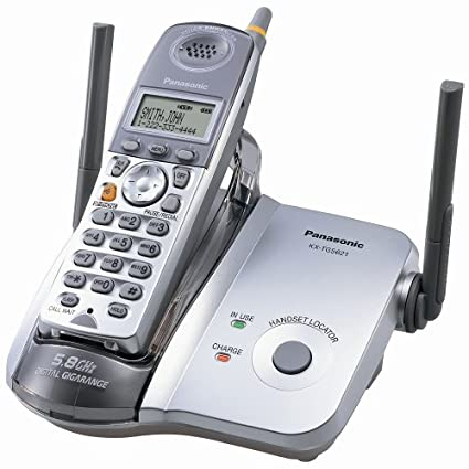 amazon com panasonic kx tg5621s 5 8 ghz fhss gigarange digital rh amazon com Panasonic Owner's Manual Panasonic Owner's Manual