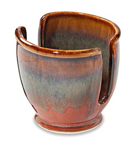 Georgetown Pottery Sponge Holder - Hamada & Persimmon