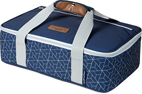 Arctic Zone 2008IL15284B Thermal Insulated Hot/Cold Food Carrier, Navy