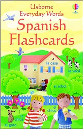 Everyday Words in Spanish Everyday Words Flashcards: Amazon