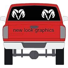 Dodge Ram Rear Window Decals Set of (2)