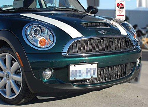 Mini Cooper/Cooper S Front License Plate Bracket Frame No Holes for Hatchback, Hardtop, Hardtop 4-Door, Clubman, Convertible, Coupe & Roadster