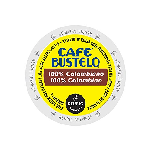 Café Bustelo 100% Colombian Medium Roast K-cup (24 Count)
