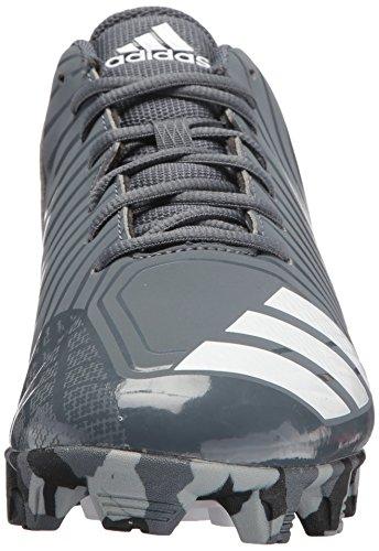 Scarpe Da Uomo Adidas Original Freak X Carbon Mid Baseball, Bianco Ftw, Grigio Chiaro