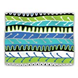 Kess InHouse Jacqueline Milton ''Salsa Blue Aqua Green'' Dog Blanket, 60 by 50-Inch