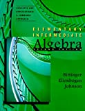 Elementary & Intermediate Algebra, Concepts and Applications: A Combined Approach (2nd Edition)