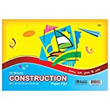Bulk Buys BAZIC 16 Ct. 18 in. X 12 in. Construction Paper Pad - Case of 48